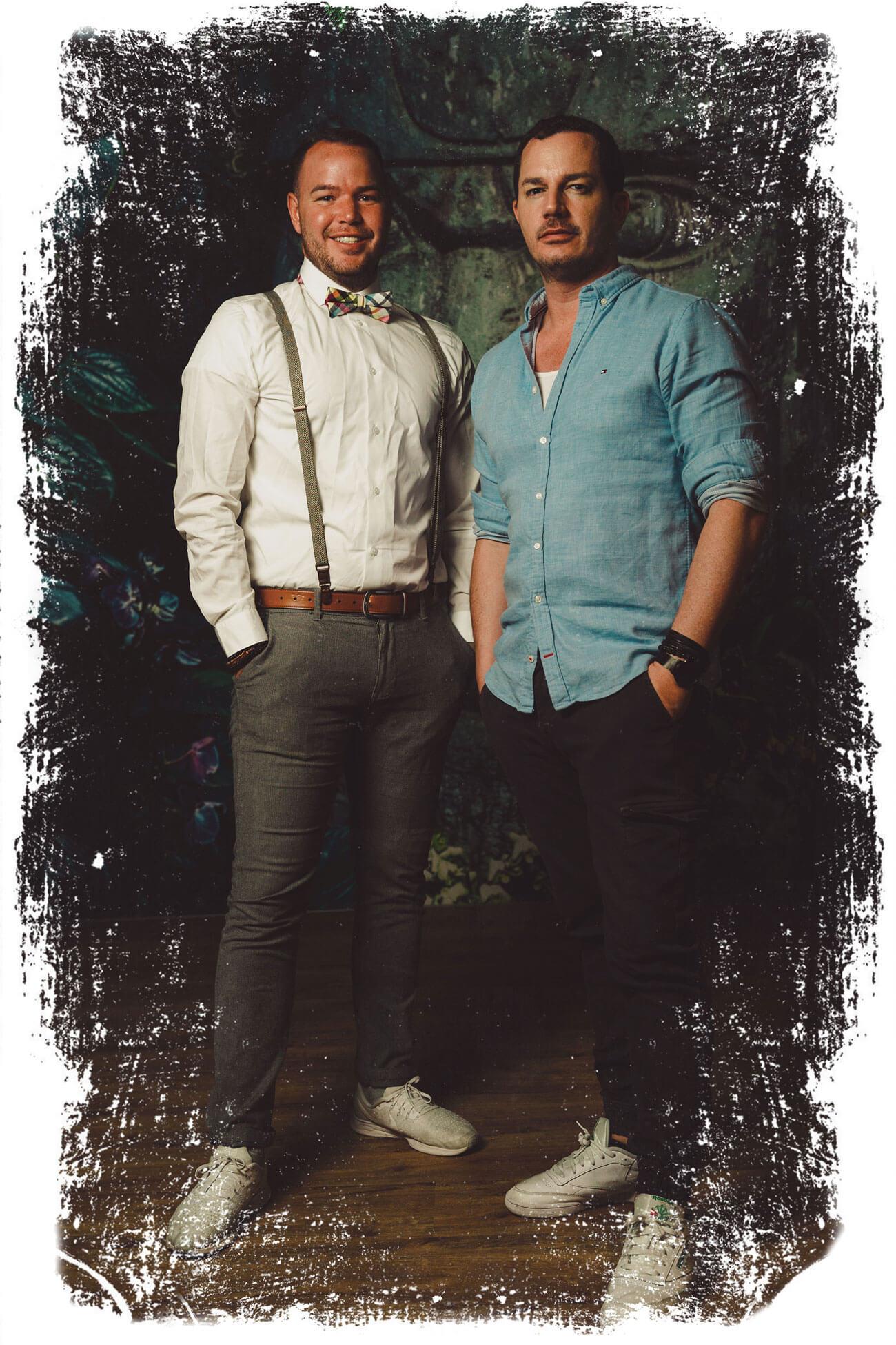Gründer Alex und Chris
