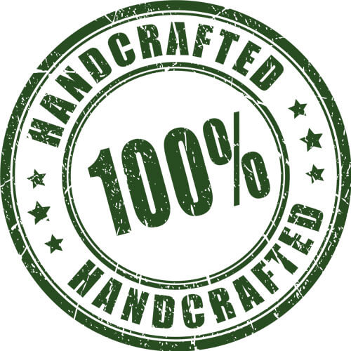 100% handcrafted Batch